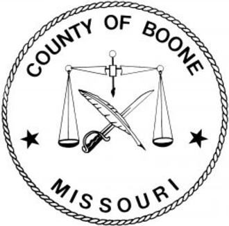Boone County, Missouri - Image: Boone County, Missouri seal