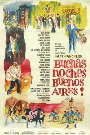 Buenas noches, Buenos Aires - Poster