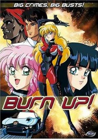 Burn Up! - ADV Film DVD cover.