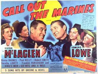 Call Out the Marines - Original film poster