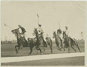 Ralph Gerald Ritson - Captain Vivian Noverre Lockett, Monte Waterbury, Captain Ralph Gerald Ritson, and Lawrence Waterbury II circa 1910-1915