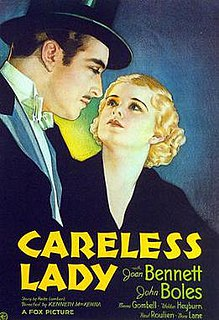 <i>Careless Lady</i> 1932 film