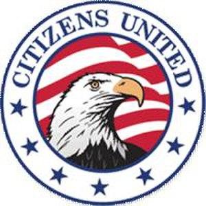 Citizens United (organization) - Image: Citizens United logo