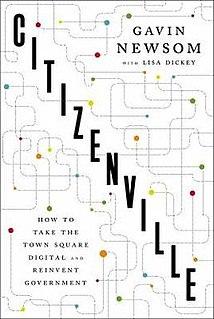 <i>Citizenville</i> 2013 book by Gavin Christopher Newsom