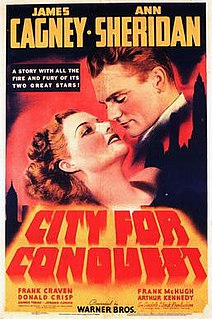 <i>City for Conquest</i> 1940 film by Anatole Litvak