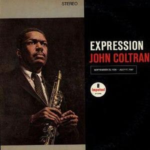 Expression (album) - Image: Coltrane Expression