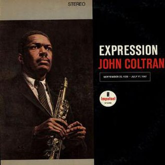 Expression (album) - Image: Coltrane Expression