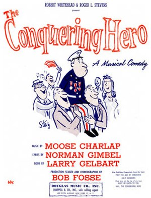 The Conquering Hero - Page from sheet music (cropped)