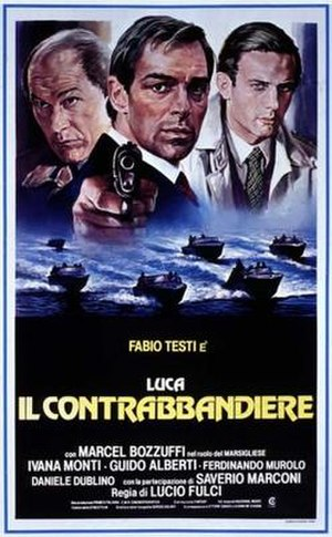 Contraband (1980 film) - Italian theatrical poster