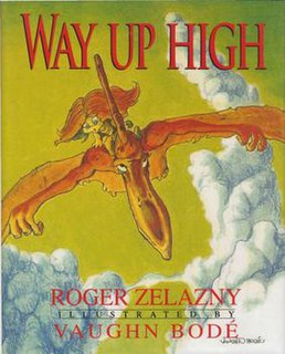 <i>Way Up High</i> book by Roger Zelazny