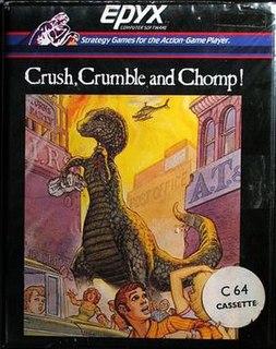 <i>Crush, Crumble and Chomp!</i> 1981 video game