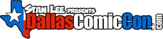 Fan Expo Dallas - DCC logo used from 2012 until 2016 rebranding.