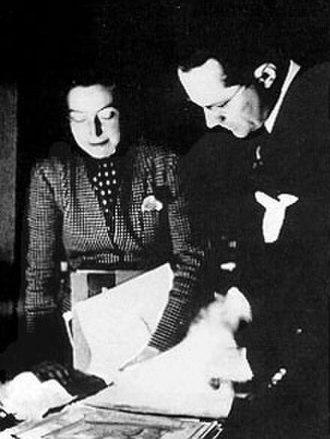 Varian Fry - Varian Fry and Miriam Davenport, c.1940