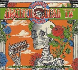 <i>Daves Picks Volume 18</i> 2016 live album by Grateful Dead