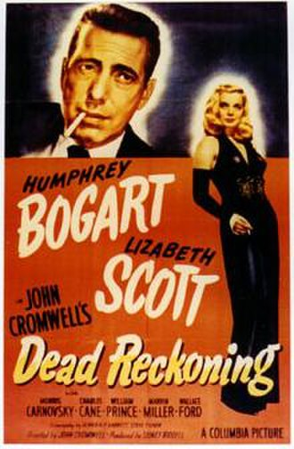 Dead Reckoning (1947 film) - Thearical release poster