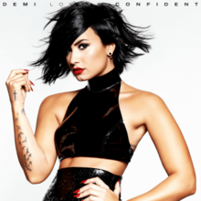 Demi Lovato - Confident (Official Single Cover).png