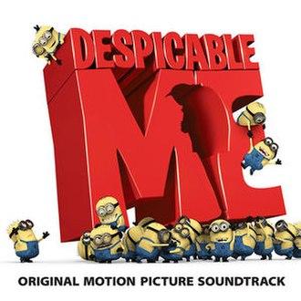 Despicable Me: Original Motion Picture Soundtrack - Image: Despicable Me Soundtrack
