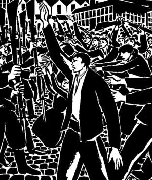 25 Images of a Man's Passion - The protagonist leads a workers' revolt
