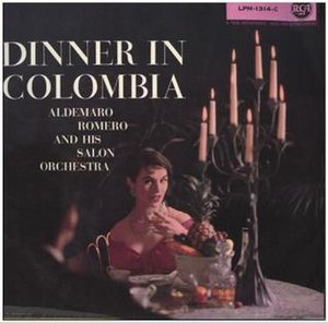 Dinner in Colombia - Image: Dinner in Colombia