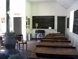 District School No. 9 - Image: District School 9 interior