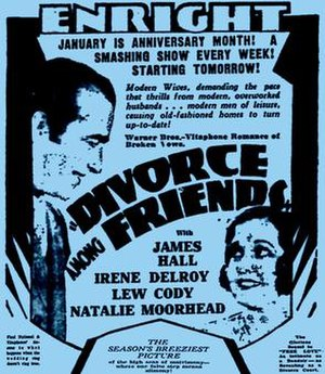 Divorce Among Friends - Image: Divorce Among Friends 1930 Poster