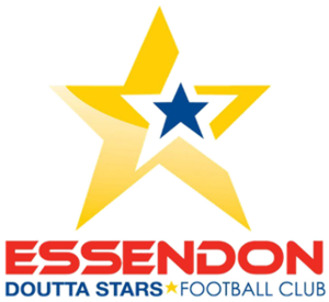 Essendon Doutta Stars Football Club - Image: Doutta stars fc logo