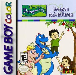 Dragon Tales - Cover of Dragon Tales: Dragon Adventures