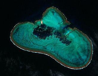 Elizabeth and Middleton Reefs Marine National Park Reserve - Image: Elizabeth Reef