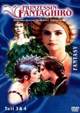 Fantaghirò 2 - German DVD cover