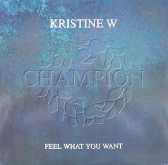Kristine W — Feel What You Want (studio acapella)