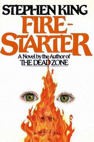 Firestarter (novel) - First edition cover
