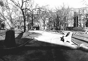 Fitler Square, Philadelphia - Fitler Square Circa 1947 (Courtesy of Philadelphia Historic Archives)