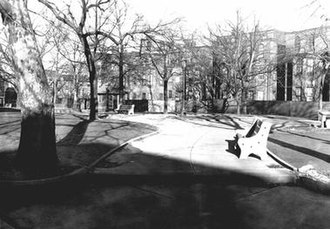 Fitler Square, Philadelphia - Fitler Square Circa 1947 (Courtesy of Philadelphia Historic Archives)
