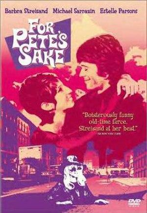For Pete's Sake (film) - DVD cover
