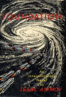 <i>Foundation</i> series Series of science-fiction books by Isaac Asimov
