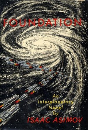 Foundation series - First edition dust-jacket of Foundation