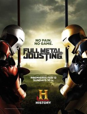 Full Metal Jousting - Image: Full Metal Jousting ad from History Channel