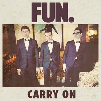 Fun - Carry On (studio acapella)