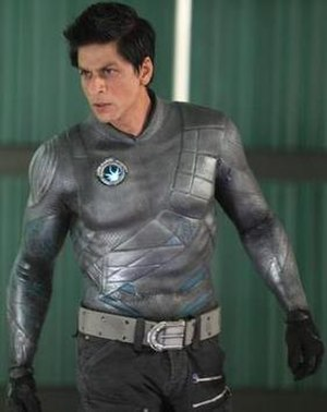 Ra.One - G.One's costume prior to the addition of visual effects