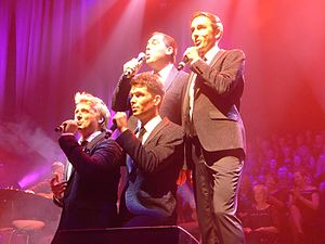 G4 (band) - G4 at the Reunion Concert at the Barbican Centre 17 November 2015