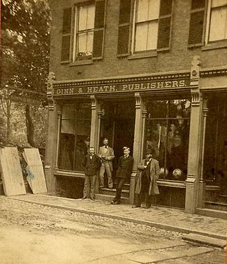 D. C. Heath and Company - Ginn and Heath, Maine, circa 1875, the predecessor to D.C. Heath and Co., founded by Daniel Collamore Heath