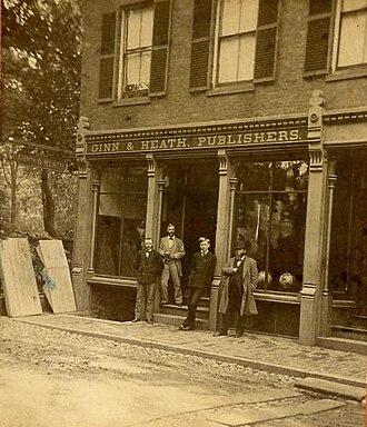 D. C. Heath and Company - Ginn and Heath, Maine, circa 1875, the predecessor to