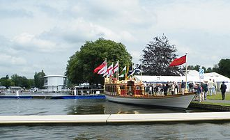 Gloriana (barge) - Gloriana at Henley Royal Regatta 2012