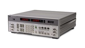 Audio analyzer - HP 8903B, an audio analyser of mid-1980s