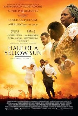Half of a Yellow Sun (film) - Theatrical poster