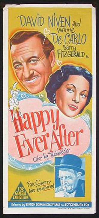 Happy Ever After (1954 film) - Theatrical release poster