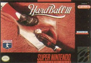 <i>HardBall III</i> 1992 video game