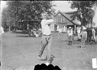 Harold Weber Amateur golfer