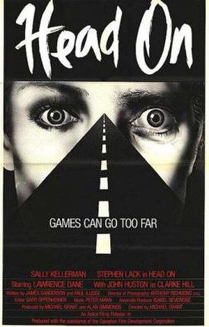 Head On (1980 film) - Canadian theatrical film poster