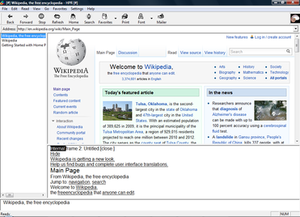 IBM Home Page Reader - Image: Home Page Reader Homepage